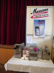 Výrobníky šlehačky Mussana